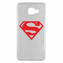 Чехол для Samsung A7 2016 Superman одноцветный