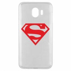 Чехол для Samsung J4 Superman одноцветный