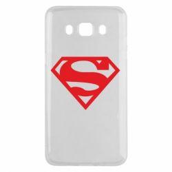 Чехол для Samsung J5 2016 Superman одноцветный