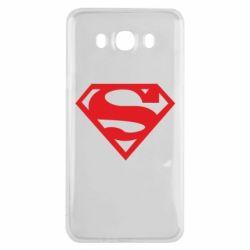 Чехол для Samsung J7 2016 Superman одноцветный