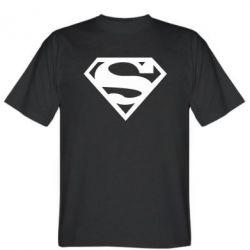 Мужская футболка Superman одноцветный - FatLine