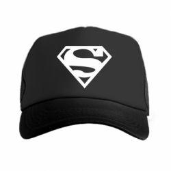 Кепка-тракер Superman одноцветный - FatLine