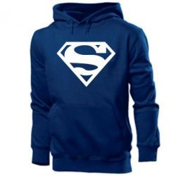 Мужская толстовка Superman одноцветный - FatLine