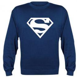Реглан (свитшот) Superman одноцветный - FatLine