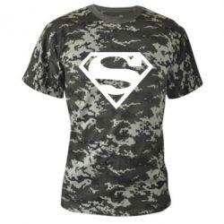 Камуфляжная футболка Superman одноцветный - FatLine