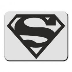 Коврик для мыши Superman одноцветный - FatLine