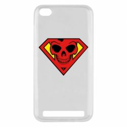 Чехол для Xiaomi Redmi 5a Superman Skull