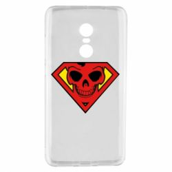 Чехол для Xiaomi Redmi Note 4 Superman Skull