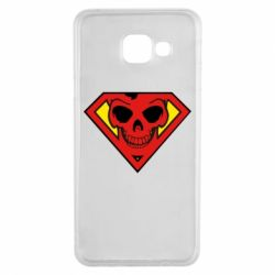 Чехол для Samsung A3 2016 Superman Skull