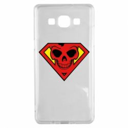 Чехол для Samsung A5 2015 Superman Skull