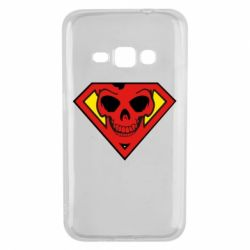 Чехол для Samsung J1 2016 Superman Skull
