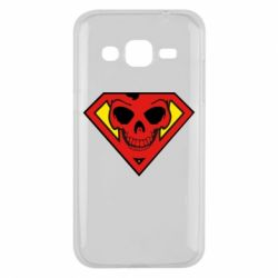 Чехол для Samsung J2 2015 Superman Skull