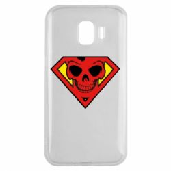 Чехол для Samsung J2 2018 Superman Skull
