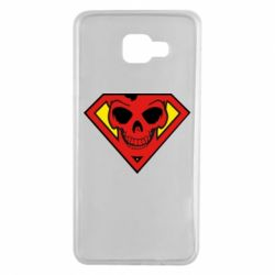 Чехол для Samsung A7 2016 Superman Skull