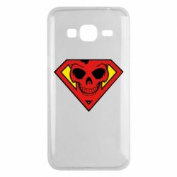 Чехол для Samsung J3 2016 Superman Skull