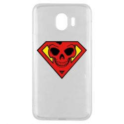 Чехол для Samsung J4 Superman Skull