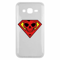 Чехол для Samsung J5 2015 Superman Skull
