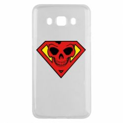 Чехол для Samsung J5 2016 Superman Skull
