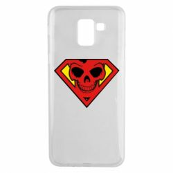 Чехол для Samsung J6 Superman Skull