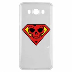 Чохол для Samsung J7 2016 Superman Skull