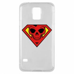 Чехол для Samsung S5 Superman Skull