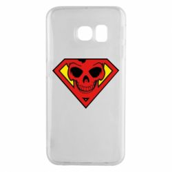 Чехол для Samsung S6 EDGE Superman Skull