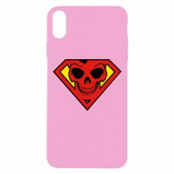 Чехол для iPhone Xs Max Superman Skull