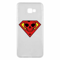 Чехол для Samsung J4 Plus 2018 Superman Skull