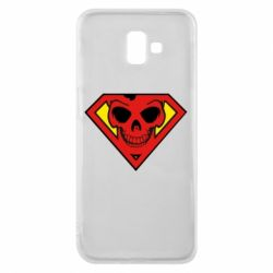 Чехол для Samsung J6 Plus 2018 Superman Skull