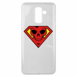 Чохол для Samsung J8 2018 Superman Skull
