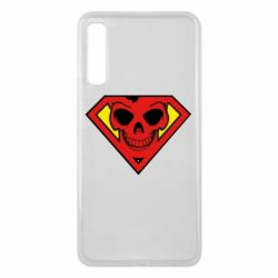 Чехол для Samsung A7 2018 Superman Skull