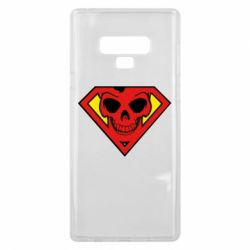 Чохол для Samsung Note 9 Superman Skull
