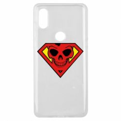 Чехол для Xiaomi Mi Mix 3 Superman Skull