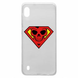 Чехол для Samsung A10 Superman Skull