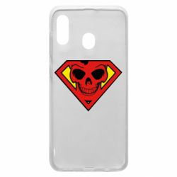 Чехол для Samsung A30 Superman Skull