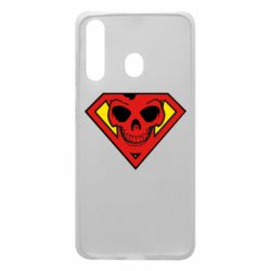 Чехол для Samsung A60 Superman Skull