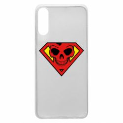 Чехол для Samsung A70 Superman Skull