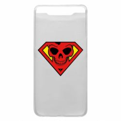 Чохол для Samsung A80 Superman Skull