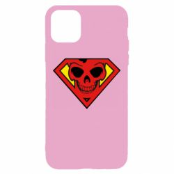 Чехол для iPhone 11 Superman Skull