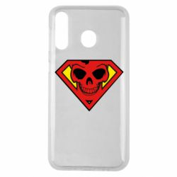 Чехол для Samsung M30 Superman Skull