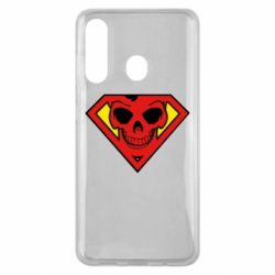 Чехол для Samsung M40 Superman Skull