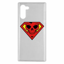 Чехол для Samsung Note 10 Superman Skull
