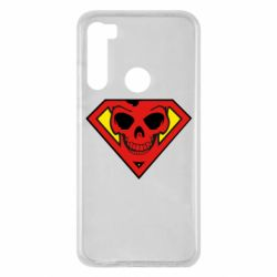 Чехол для Xiaomi Redmi Note 8 Superman Skull