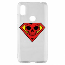 Чехол для Xiaomi Redmi S2 Superman Skull