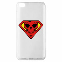 Чохол для Xiaomi Redmi Go Superman Skull