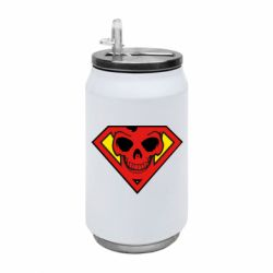Термобанка 350ml Superman Skull