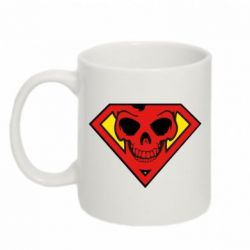 Кружка 320ml Superman Skull