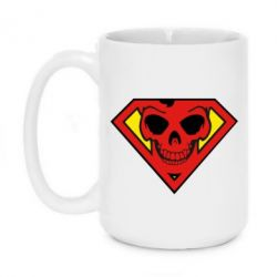 Кружка 420ml Superman Skull