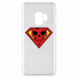 Чехол для Samsung S9 Superman Skull
