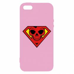Чехол для iPhone5/5S/SE Superman Skull